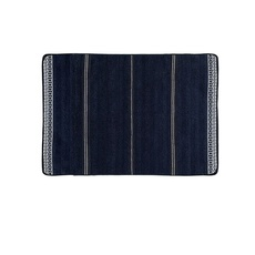 Santorini antislip badmat Waves Navy blue