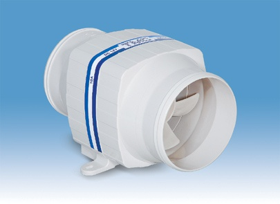 In-line ventilator 12V 4,5A 76 mm